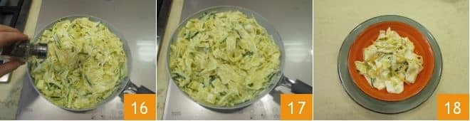 15821 pappardelle con zucchine trifolate pack strip 16 18